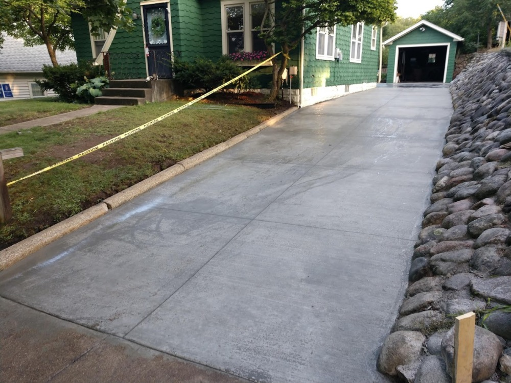 Seven tips for maintaining your new driveway